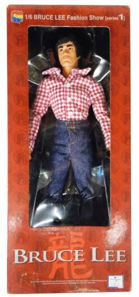 Bruce Lee - Medicom - Bruce Lee Fashion Show Series 01 Mode 02 (Red/White Checker Shirt)
