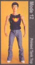 Bruce Lee - Medicom - Bruce Lee Fashion Show Series 2 Mode 12 (Printed Tank Top)
