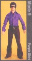 Bruce Lee - Medicom - Bruce Lee Fashion Show Series 2 Mode 9 (Purple Shirt)