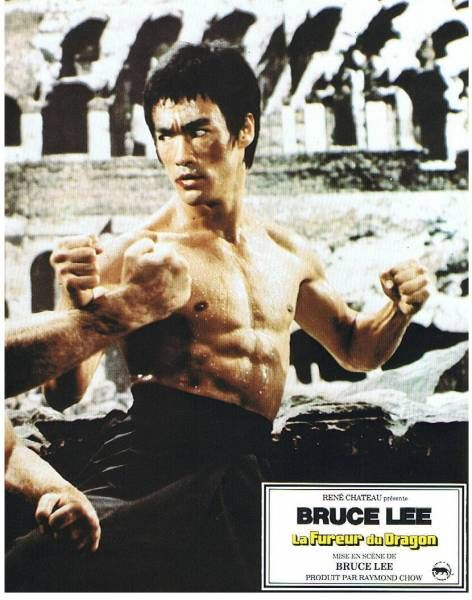 Bruce Lee - Set of 16 \'\'The Way of the Dragon\'\' Lobby Cards - René Chateau 1972
