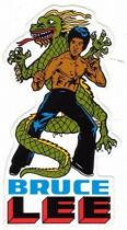 Bruce Lee - Sticker Dragon