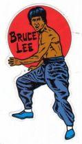 Bruce Lee - Sticker Kung-Fu