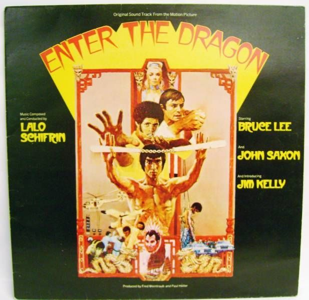 Bruce Lee, Enter the Dragon (Original Soundtrack) - Record LP - Warner Bros. /  WEA Records 1973