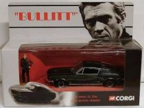 Bullitt - 1968 Ford Mustang with figure scale 1:36 - Corgi