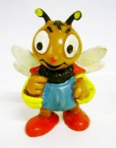 Bully\'s Bee (Bully-Bienchen) - Bully 1975 - Bee with pollen