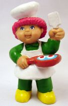 Cabbage Patch Kids - PVC Figure 1984 - Boy cooking with frypan