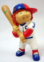 Cabbage Patch Kids - PVC Figure 1984 - Boy with baseball bat