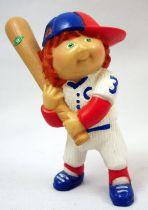 Cabbage Patch Kids - PVC Figure 1984 - Boy with baseball bat