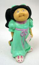 Cabbage Patch Kids - PVC Figure 1984 - Brunette girl in night gown