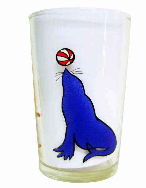 Cabu -  Mustard glass - The trainer of seals