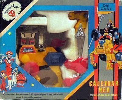 Calendar Man - Ceppi Ratti -  Calendar Man Sagittarius Daikyojin & Daitenba(Mint in box)