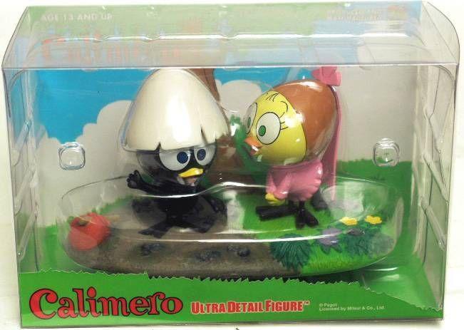 Calimero and Priscilla Medicom figures