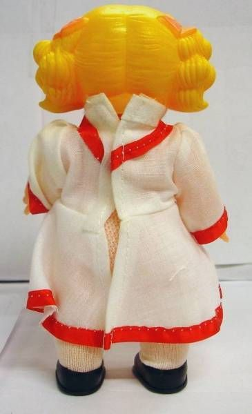 Candy & Anthony -  Vinyl Dolls Mint in box Rose dress
