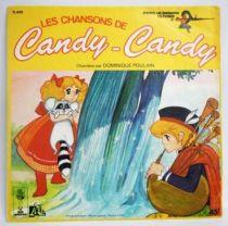 Candy - Disque 45T - Les nouvelles chansons de candy-Candy (Dominique Poulin) - Disques Ades