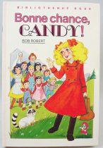 """Candy - Livre Bibliothèque Rose \""""Bonne chance, Candy!\"""""""