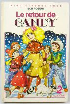 """Candy - Livre Bibliothèque Rose \""""Le retour de Candy\"""""""