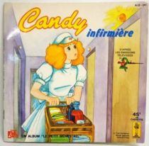Candy - Livre-Disque 45T - Candy infirmière