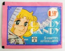 Candy Candy - Americana France 1978 Stickers set