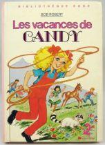 Candy - Livre Bibliothèque Rose \'\'Les Vacances de Candy\'\'
