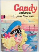 Candy - Edition G. P. Rouge et Or A2 - Candy embarque pour New-York