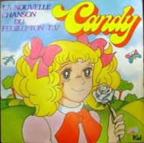 Candy Candy - Record 45s - New TV serie\\\'s theme
