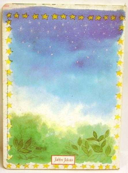 Candy Candy - School Notebook - Candy & Terry (night sky) - Fabbri Felicità