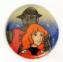 Capitaine Flam - Badge Vintage - Johan & Grag