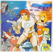 Capitaine Flam - Disque 33T - Histoire Racontée - RCA Records 1981