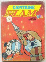 Capitaine Flam - Editions Greantori - Capitaine Flam Album Poche n°3