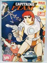 Capitaine Flam - Livre Disques double 45Tours - RCA Records 1980 01
