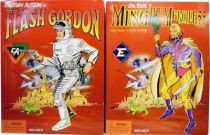 Captain Action figures : Flash Gordon & Ming the Merciless - Playing Mantis