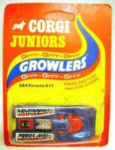 Captain America - Corgi Junior Growlers - Porsche 917  (mint on card)