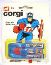 Captain America - Corgi Junior Ref. 25 - Porsche 917 (mint on card)