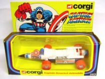 Captain America - Corgi Ref. 263 - Captain America Jetmobile (mint in box)