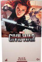 Captain America Civil War - Black Widow (Scarlett Johansson) - Figurine 30cm Hot Toys Sideshow MMS 365