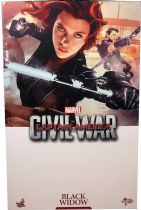 "Captain America Civil War - Black Widow (Scarlett Johansson) 12"" figure - Hot Toys Sideshow MMS 365"