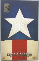 "Captain America The First Avenger - Star Spangled Man Cap (Chris Evans) 12\"" figure - Hot Toys Sideshow MMS 205"