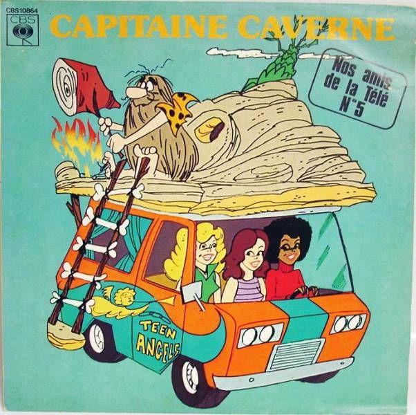 Captain Caveman - Mini-LP Record - CBS Records 1979