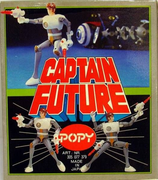 Captain Future - Captain Future action-figure Popy Germany