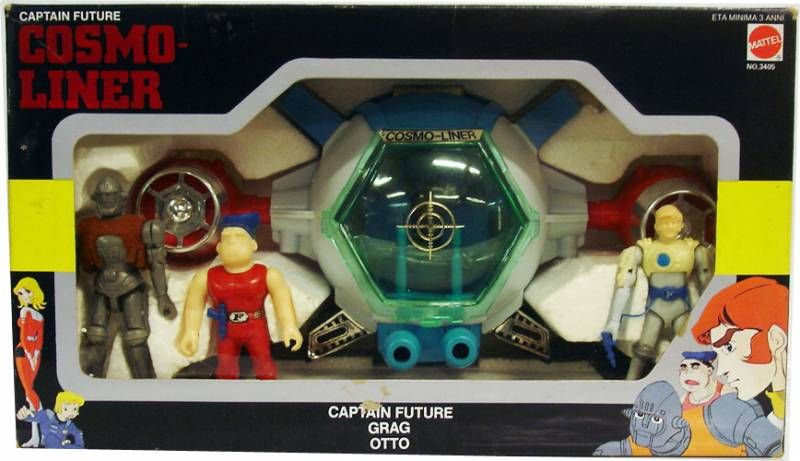 Captain Future - Cosmo-Liner DX - Mattel
