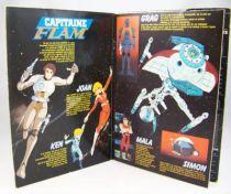 Capitaine Flam - Livre Disques double 45Tours - RCA Records 1980 02