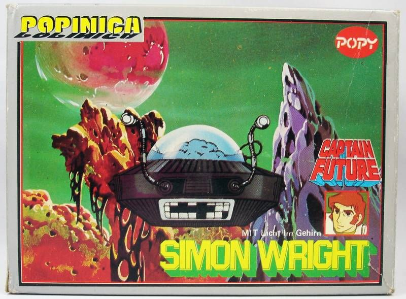 Captain Future - Professor Simon Wright - Popy Germany