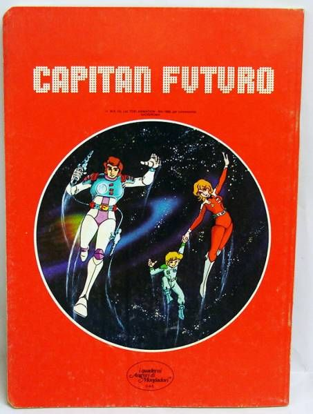 Captain Future - School Notebook - Curtis flashing Fish-Man