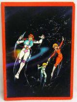 Captain Future - School Notebook - Curtis Newton, Joan Randall & Johnny Kirk
