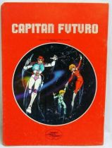 Captain Future - School Notebook - Curtis shooting Jovian Soldier