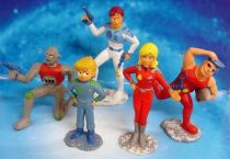 Captain Future - Set of 5 Schleich PVC figures