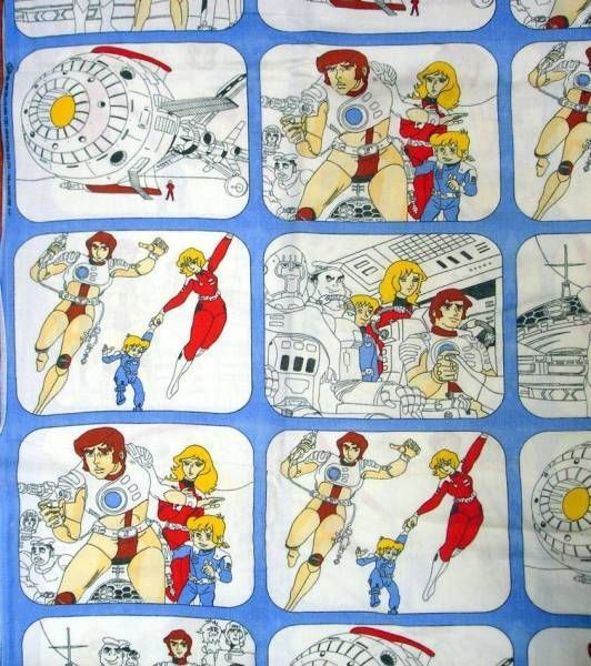 Captain Future - Set of Child Sheets