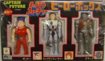 Captain Future - Three Heroes pack : Captain Future, Otto and Grag - Popy Japan