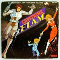 Captain Future Original French TV series Soundtrack - Mini-LP Record - RCA Records 1980