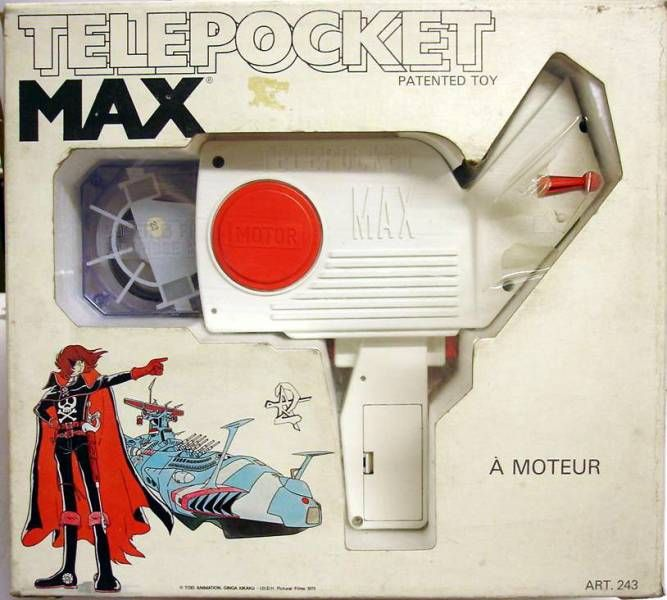 Captain Harlock  - Telepocket Max Movie viewer projector